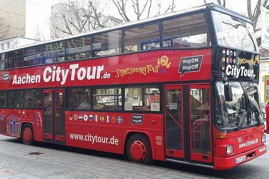 City Tour Aachen en un autobús de dos pisos