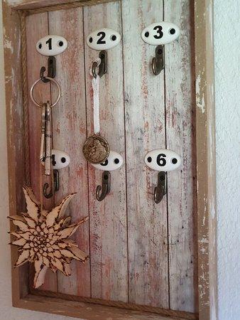 Unsere  Zimmer schlüssel