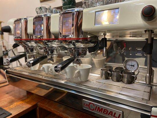 Cafetería de especialidad ☕️ #pibaz #barista #espresso #cafe #caffe #latte #cappuccino