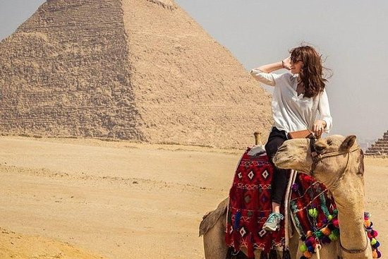 Private Full Day Tour To Giza Pyramids, Sakkara and Memphis included Camel Rid Resmi