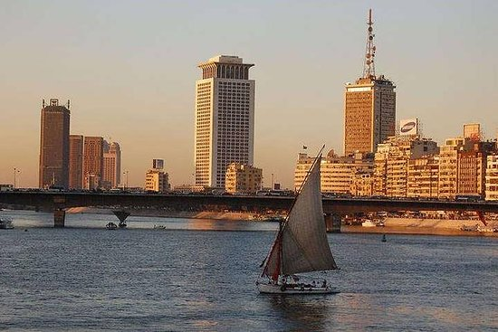 Private Nile Felucca Ride from Cairo Resmi