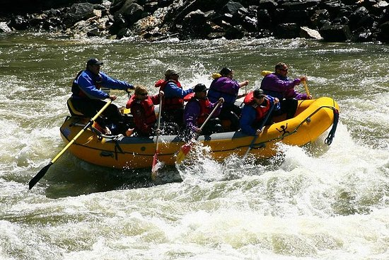 Full-Day Whitewater Rafting Trip in...