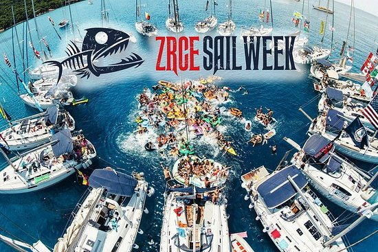 ZRCE SAIL WEEK: Party vacation on a sailboat on the Zrce beach in...