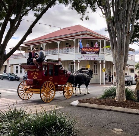 Boonah, Úc: cobb and co wagon tours