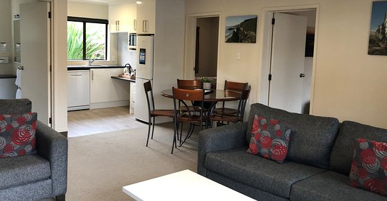 2 Bedroom Living/Dining and Kitchen