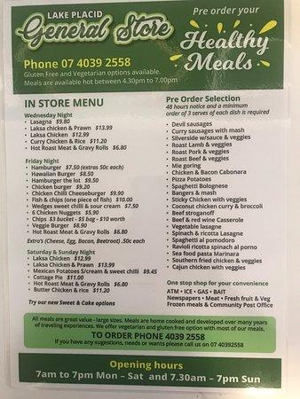 Caravonica, Australia: Great food