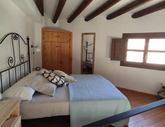 Dormitorio en la parte superior