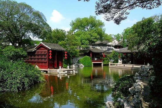 Suzhou og Tongli Water Village Day Tour
