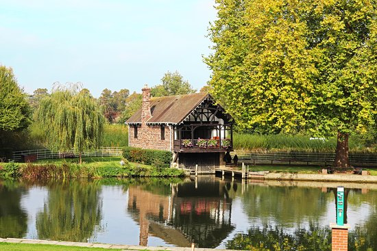 Shillingford, UK: hotel grounds