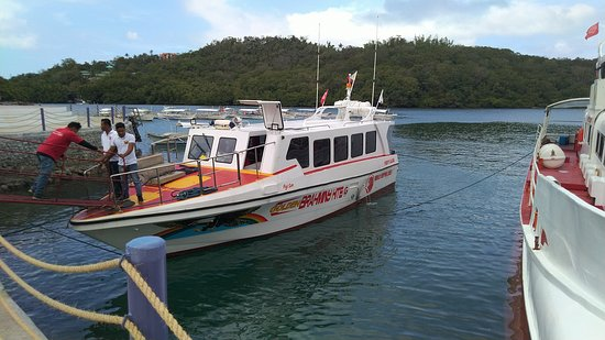 The ferry to Puerto Galera.