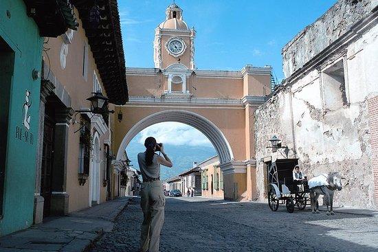 Excursão de meio dia pela Antigua...