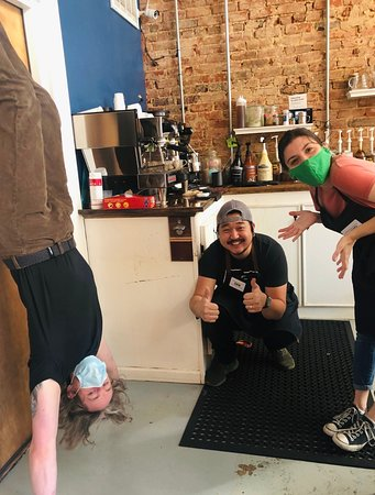 How many shots of espresso do you think our baristas had?