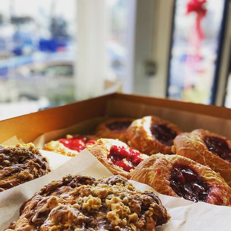Pastries fresh from the baker!