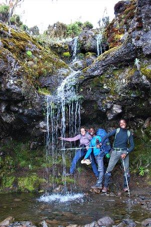 Small Water Fall on Kilimanjaro
