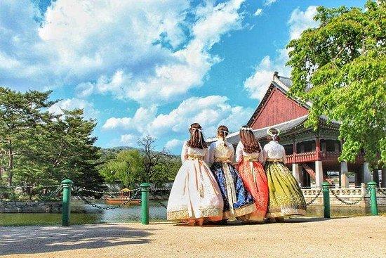 Gyeongbokgung Hanbok Photoshoot Bukchon Hanok village Snaps edited Fotografie