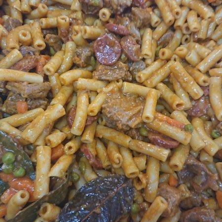 Pratos do dia de one. Macarronada, e pasta gratinada com Atum e delicías do Mar. #MeryDoceMeryPaixão-Pela-Comida-caseira