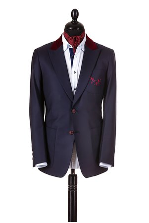 Bespoke and made-to-measure tailor-made men's suits, blazers, trousers in Targoviste, Romania  @Anghel Constantin Tailoring