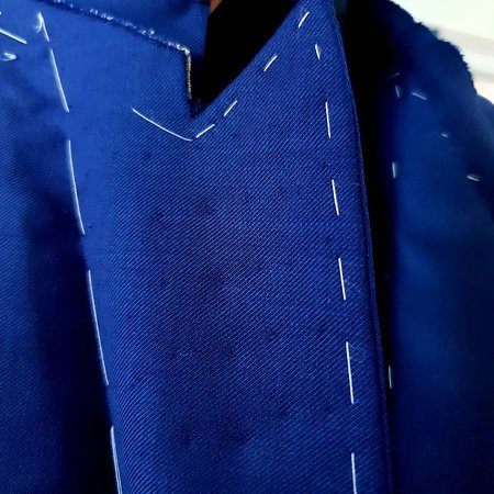 Bespoke tailoring, full canvas and half canvas suit construction in Bucharest and Targoviste, Romania