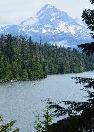 la montagna ed il lago