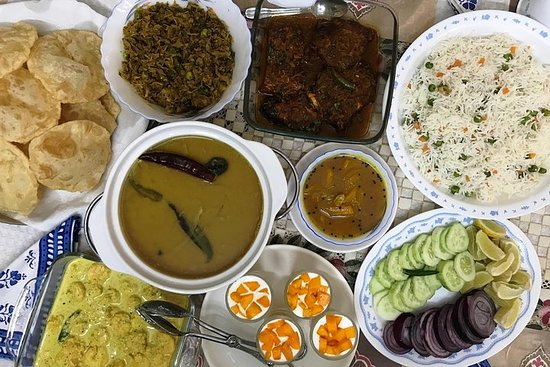 Cooking class and home cooked Bengali meal in New Town, Kolkata – fotografia