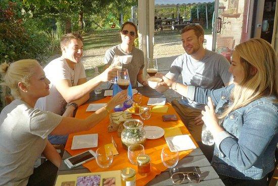 Tuscan countryside bike tour and saffron tasting