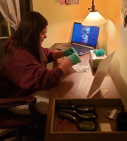 Preparing for fingerprint preserving!
