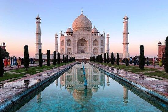 泰姬陵私人游从新德里与午餐