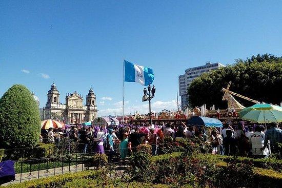 Recorrido por la ciudad de Guatemala