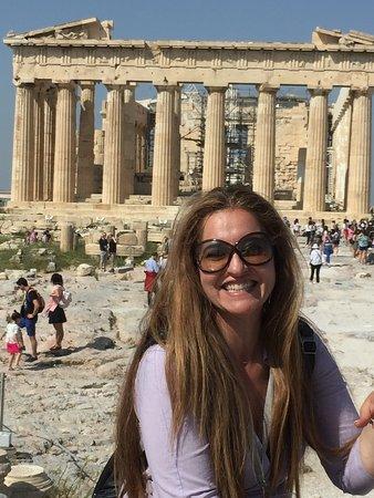 Atenas, Grecia: Feliz en la acrópolis