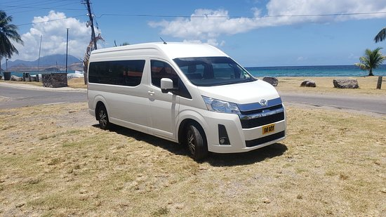We have a variety of transportation vehicles.  Whether for airport/hotel, island tours or event transfer.