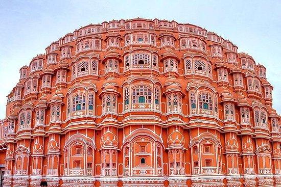 Samma dag Jaipur tur med bil från Delhi-bild