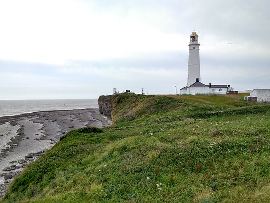 One of two lighthouses at Nash Point.