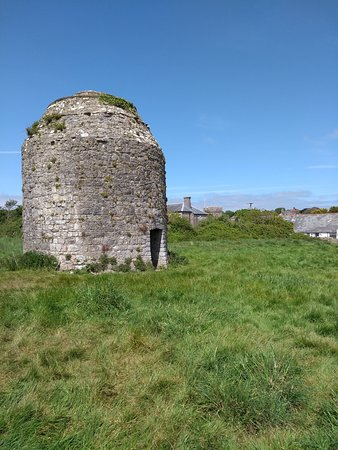 The medieval dovecote at Llantwit Major.