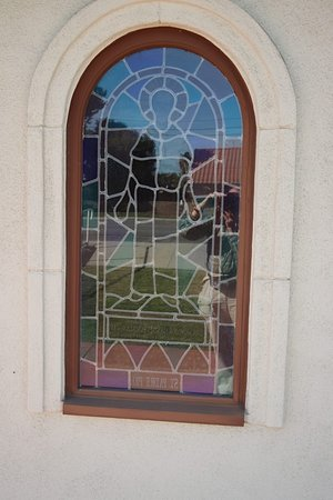 Loma Linda, Kalifornien: A stained glass window