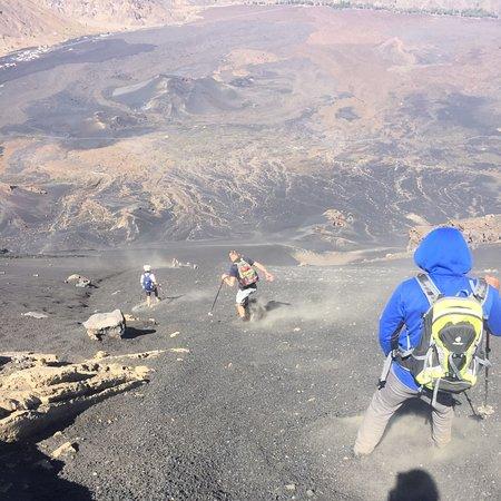 Fogo island volcano