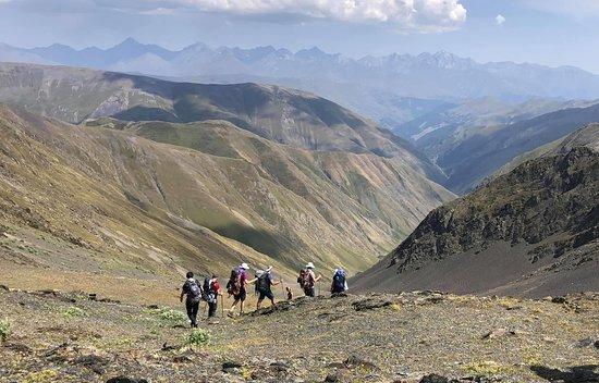 Pankisi Gorge (Wąwóz Pankisi, dolina Pankisi, Pankisi Xeoba) Fotografia z naszej wyprawy trekking z Pankisi do Tuszetii- Caucasus X-Trek Pankisi.