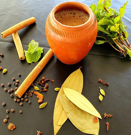 Masala Chai. One of our traditional authentic Indian drinks available.