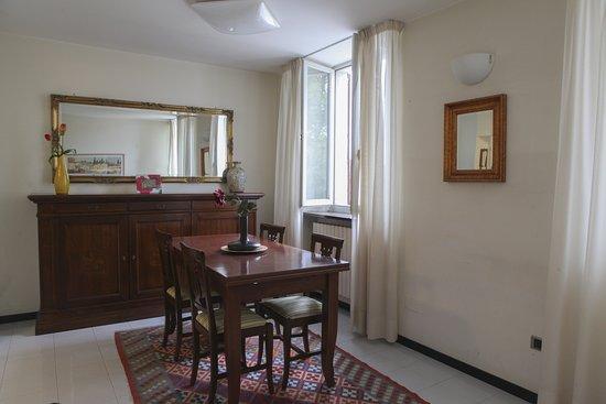 Uno sguardo al salottino del nostro appartamento,  perfetto per famiglie e gruppi di amici!
