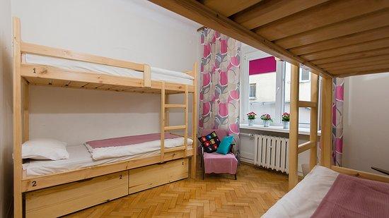 Varşova, Polonya: Pokój damski. Tutaj kobiety mogą wynająć łóżko.