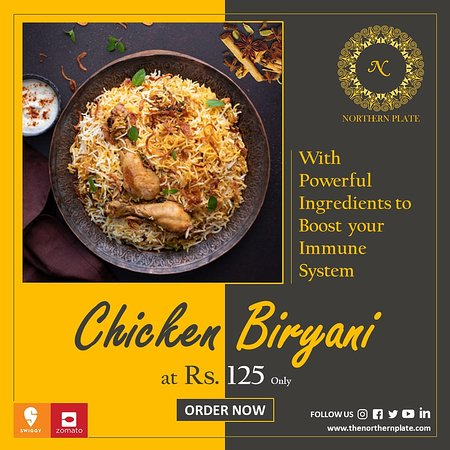 Gurgaon District, India: #Chickenbiryani With Powerful Ingredients to Boost your Immune System. Experience the freshness only with NORTHERN PLATE! #Orderonline  Zomato -http://bit.ly/2I50pNX Swiggy -http://bit.ly/2wcgkHz  #northernplate #gurgaon #food #foodporn #foodie #instafood #foodphotography #foodstagram #yummy #instagood #delicious #foodlover #like #follow #healthyfood #dinner #foodgasm #homemade #foodies #tasty #photooftheday