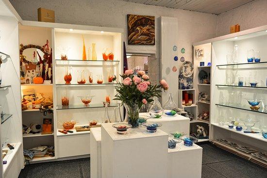 Stoneyford, Irlandia: Jerpoint Glass Craft Shop
