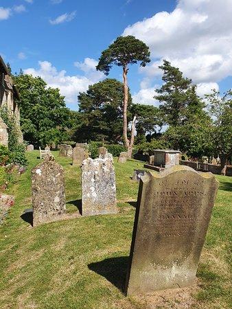 Historic church and churchyard
