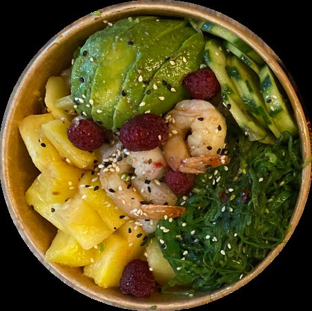 Poké Crevette Ananas