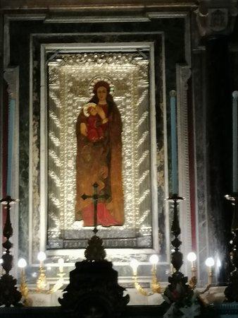 Icona Bizantina della Madonna di Capo Colonna