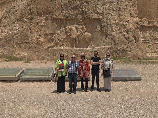 Marvdasht, Iran: Tourism professors of UDG (University of Girona)