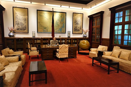 ‪‪Zhongzheng District‬, טאיפיי: Recreation of Chiang's office‬