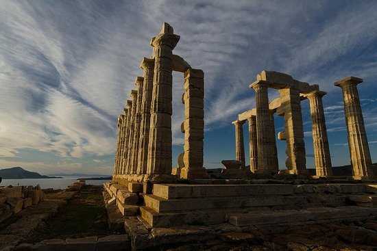 '' Sounio - Temple of Poseidon ''
