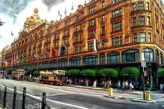 行政豪华车私人伦敦购物之旅,可容纳1-3位旅客