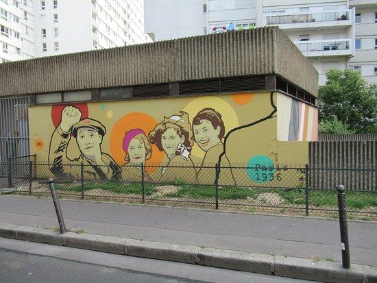 """Fresque """"front Populaire"""""""