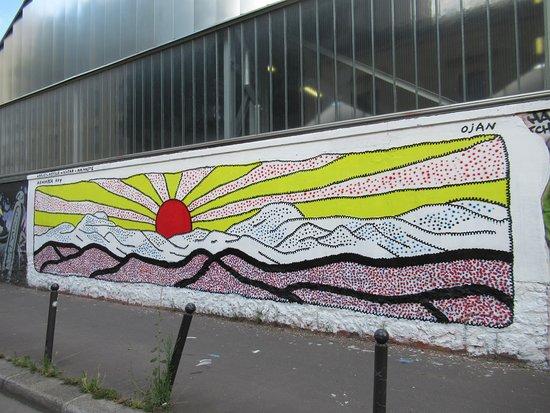 """Fresque """"lever De Soleil"""""""